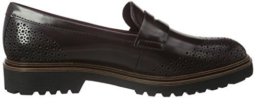Tamaris Women's 24201 Loafers, Bordeaux, 5 UK Red (Bordeaux 549)