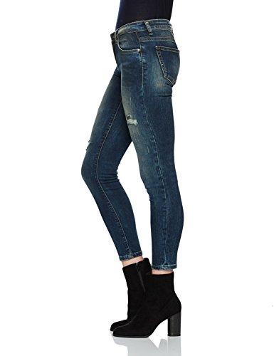 Wash cometa 51079 Mujer Mina Slim Para Ltb Vaqueros Azul HB8FBqn