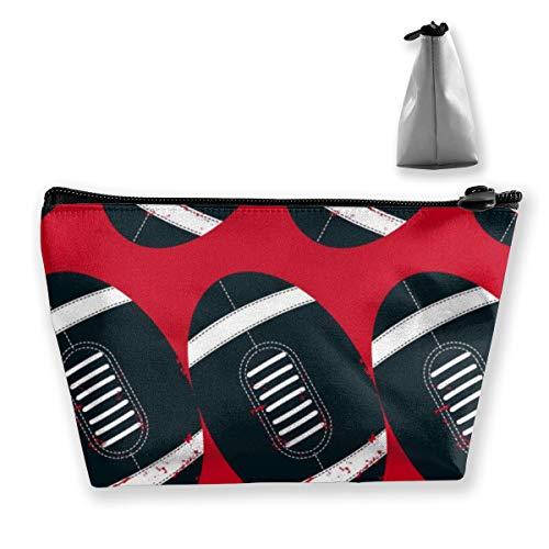 Bolsas de cosméticos trapezoidales Patrones sin Fisuras de balones ...