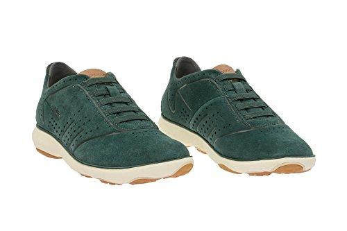 Geox U62D7C 00022C3014 - Mocasines de Piel para hombre Verde - verde