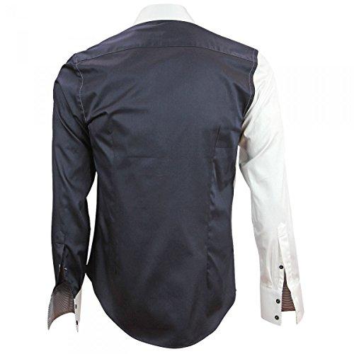 Andrew Allister Ride bianca Camicia da uomo Mc Brodee FwtBXOq