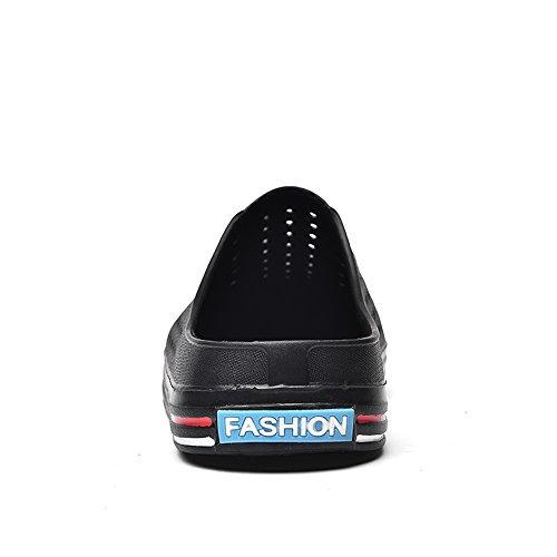 con 2018 Nero basso donna da uomo Fangs Blu e Dimensione piatte Ciabatte tacco EU da sandali 38 uomo Scarpe Color PqnH5