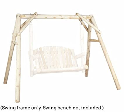 Amazon.com : Outdoor Swing Frame Only - 5 ft Cedar : Garden & Outdoor
