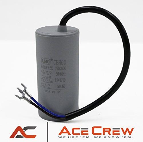 CBB60 AC 250VAC 80uf Motor Capacitor