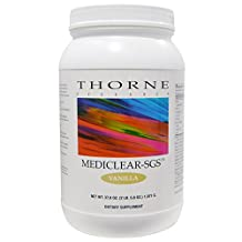 Thorne Research - MediClear-SGS - Vanilla Flavor - Rice and Pea Protein-Based Drink Powder with a Complete Multivitamin-Mineral Profile and Flavonoids - 37.8 oz.
