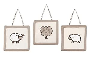 Little Lamb Wall Hanging Accessories by Sweet Jojo Designs