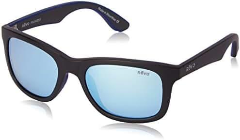 Revo Huddie RE 1000 Polarized Wayfarer Sunglasses