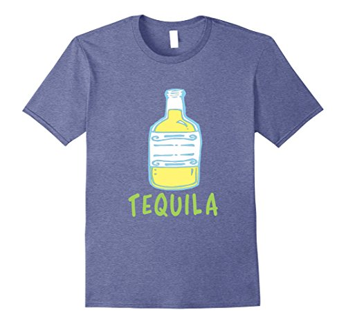 Mens Tequila Lime Matching Couples Halloween Costume T-shirt Large Heather Blue (Matching Halloween Costumes For Brother And Sister)