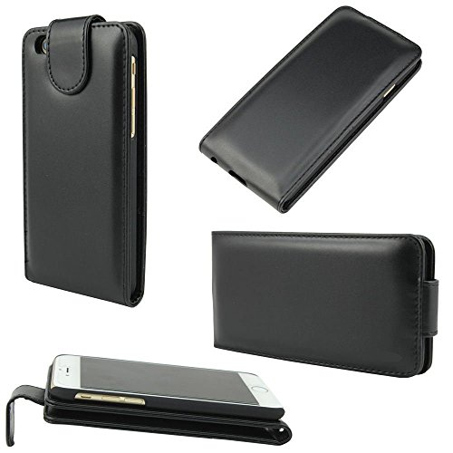 iPhone 5G/5S/5C/5SE Hülle - VENTER® Leder Flip Hülle mit Flip Folio Stand up Leder Hülle Abdeckung Holster für Apple iPhone 5G/5S/5C/5SE
