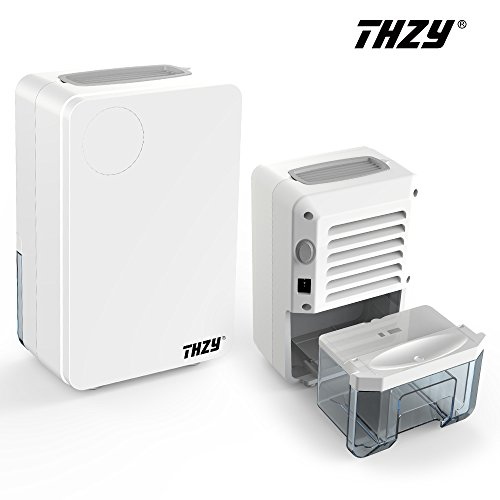 Thzy 800ml Small Thermo Electric Semiconductor Dehumidifier Compact And Portable Quiet