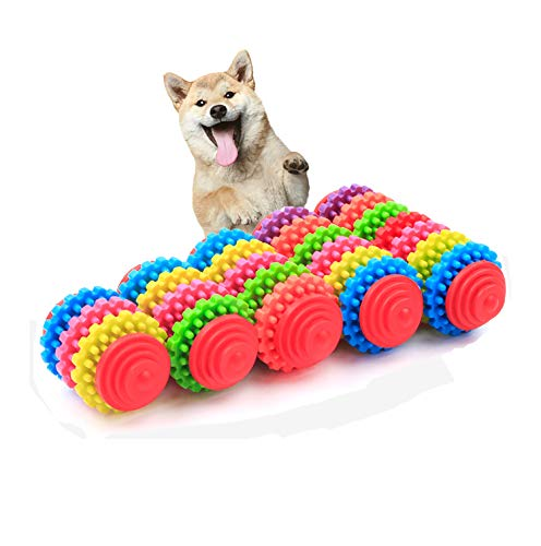 Durable Dog Puppy Chew Toys,Dental Teeth Cleaning Chew Toys for Small Dogs Cats DT027