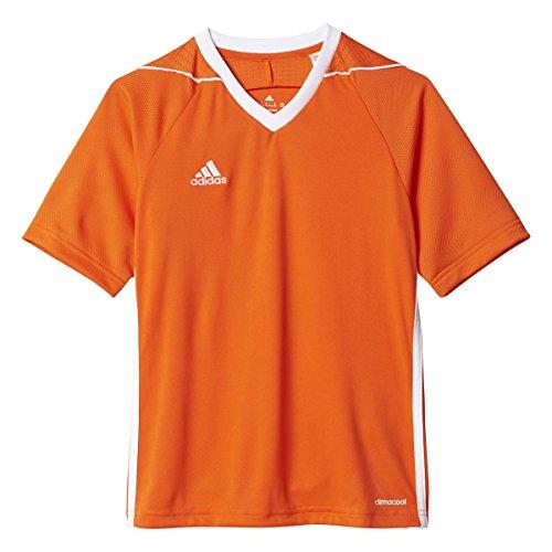 Adidas Youth Tiro 17 Soccer Jersey M Orange/White