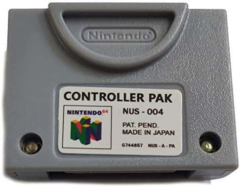DPC N64 256KB Controller Pak Memory Pack Transfer Card for Nintendo 64 (Third Party)