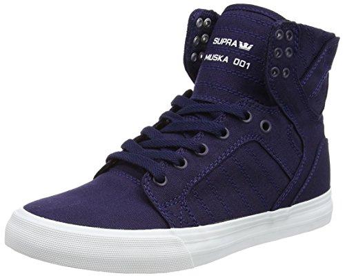 Supra Men's Skytop D Navy Canvas Men's Sneaker Men's Canvas 7, Women's 8.5 D (M) B00R6ZS5NQ Shoes 611549