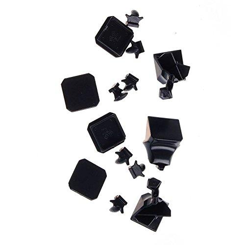 ThinkMax® 3x3 Black Speed Cube Puzzle DIY KIT