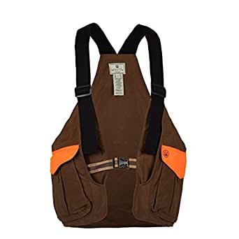 Amazon Com Beretta Men S Waxed Cotton Strap Vest Clothing