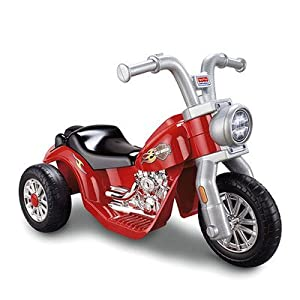 Fisher-Price-Power-Wheels-Lil-Harley-Motorcycle-Battery-Powered-Riding-Toy
