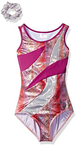 Capezio Big Girls' Gymnastics Division 1 Leotard, Firewor...