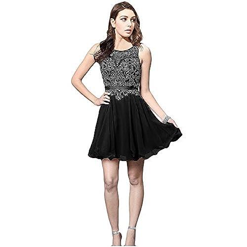 Black Short Homecoming Dresses: Amazon.com