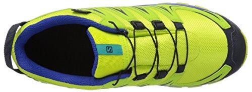 Salomon Unisex-Kinder XA Pro Traillaufschuhe Grün