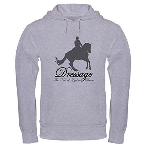 Grand Prix Hooded Sweatshirt - CafePress Dressage Dance Pullover Hoodie, Classic & Comfortable Hooded Sweatshirt Heather Grey