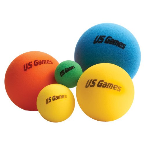 US Games Foam Ball 7″