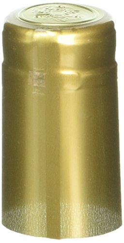 Home Brew Ohio PVC shrink Capsules-500Count, Gold