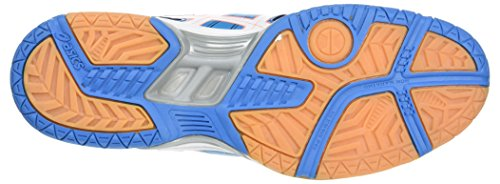 Chaussures White Blue Multicolore de Flash 4301 Gel Asics Coral 7 Femme Rocket Volleyball Jewel Sg4TA
