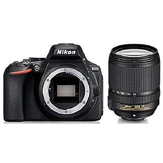 Nikon D5600 Digital Camera 18-140mm VR Kit (Black) with Bag and Card 10