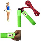 Skipping Rope with Jump Counter (Colors May Vary)