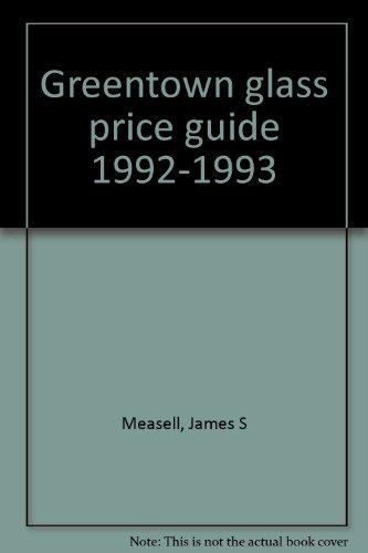 Greentown Glass Price Guide -