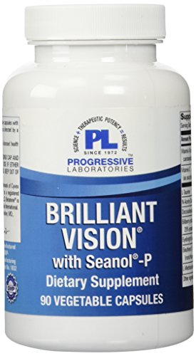 Progressive Labs Brilliant Vision Supplement, 90 Count