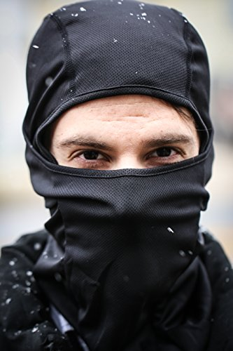 Crimson Climate Balaclava Sports Face Mask (BLACK) (Running Hood compare prices)