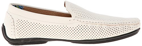 Stacy Adams Mens Pax Slip-on Loafer White