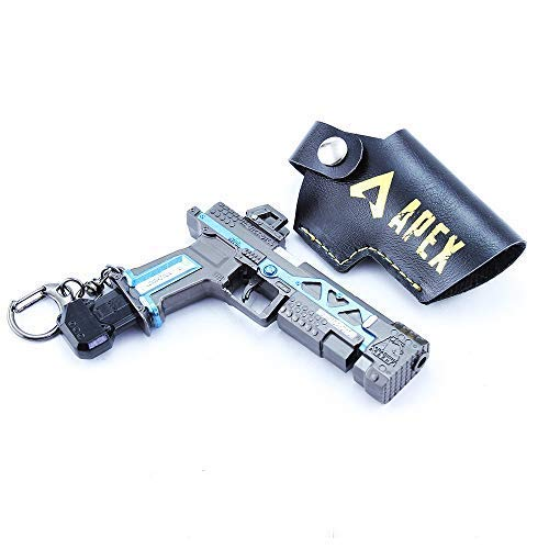 Longhe RE45 Alloy Model Weapon Metal Gun Toys Collection Keychain Crafts for Apex Legends Games