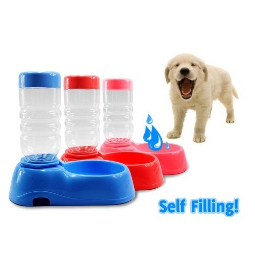 Self Filling Water Bowl for Pet Dog and Cat
