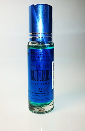 r Oil Impression Of Versace Blue Jeans For Men 12ml **Free Name Brand Sample-Vial With Every Order** ()