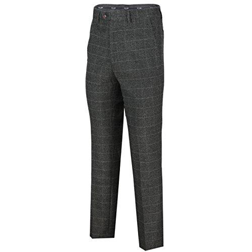 Hombre Grey charcoal Xposed Chaleco Para Trouser Z4zUEq