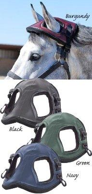 Cashel Horse Helmet Head Bumper - Size:One Size Color:Black -