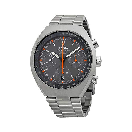 Omega Speedmaster Chronograph Grey Dial Steel Mens Watch 327.10.43.50.06.001 - Watch Omega Moon Speedmaster
