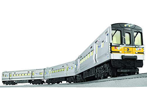Lionel MTA Long Island Railroad M7 Electric O Gauge Model Train Set w/ Remote and Bluetooth Capability from Lionel