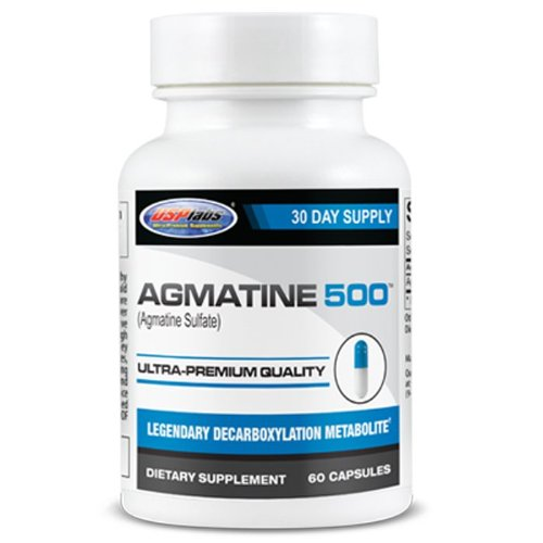 USP Labs Agmatine 500 mg, 60 comte