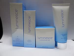 Jeunesse Luminesce Anti Aging Skin Care Complete Collection: Cleanser, Serum, Night Repair, Moisturizer