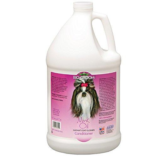 Bio-Groom Dog and Cat Mink Oil Spray, 1-Gallon - Biogroom Mink Oil Conditioner