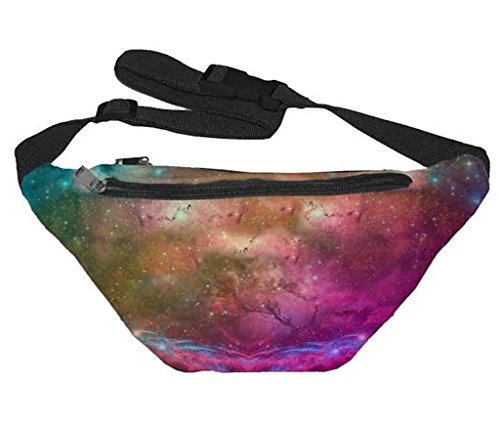 [Funny Guy Mugs Galaxy Fanny Pack] (Festival Costume For Men)