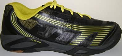 Hi-Tec Infinity Flare 4:SYS Indoor Court Shoe (11, Grey Charcoal Lime)
