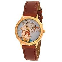 Disney Winnie the Pooh Unisex Leather Band Watch MU0734 Special