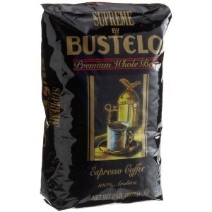Bustelo Supreme Whole Bean Coffee 8-16-Ounce Bags To A Case (Special Club Pack)