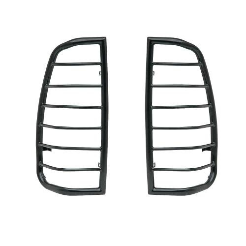 Sportsman Tail Light Cover (Westin 39-3115 Sportsman Black Powder Coat Tail Light Guard)