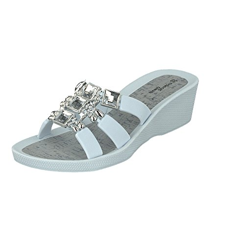 Beach Linea White Shoes Casual Samoa and Ladies Mules Scarpa Shoes Ox7Ex4